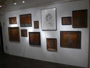 Linke Ausstellungswand