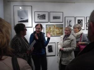 Petra Lander und Elke Glenewinkel im Gespräch